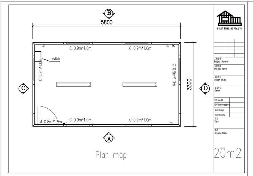 Http Clevercabins Com Au Floor Plan Gallery Image 3 Part 2 2011 Gx023 Plan Of 20m2