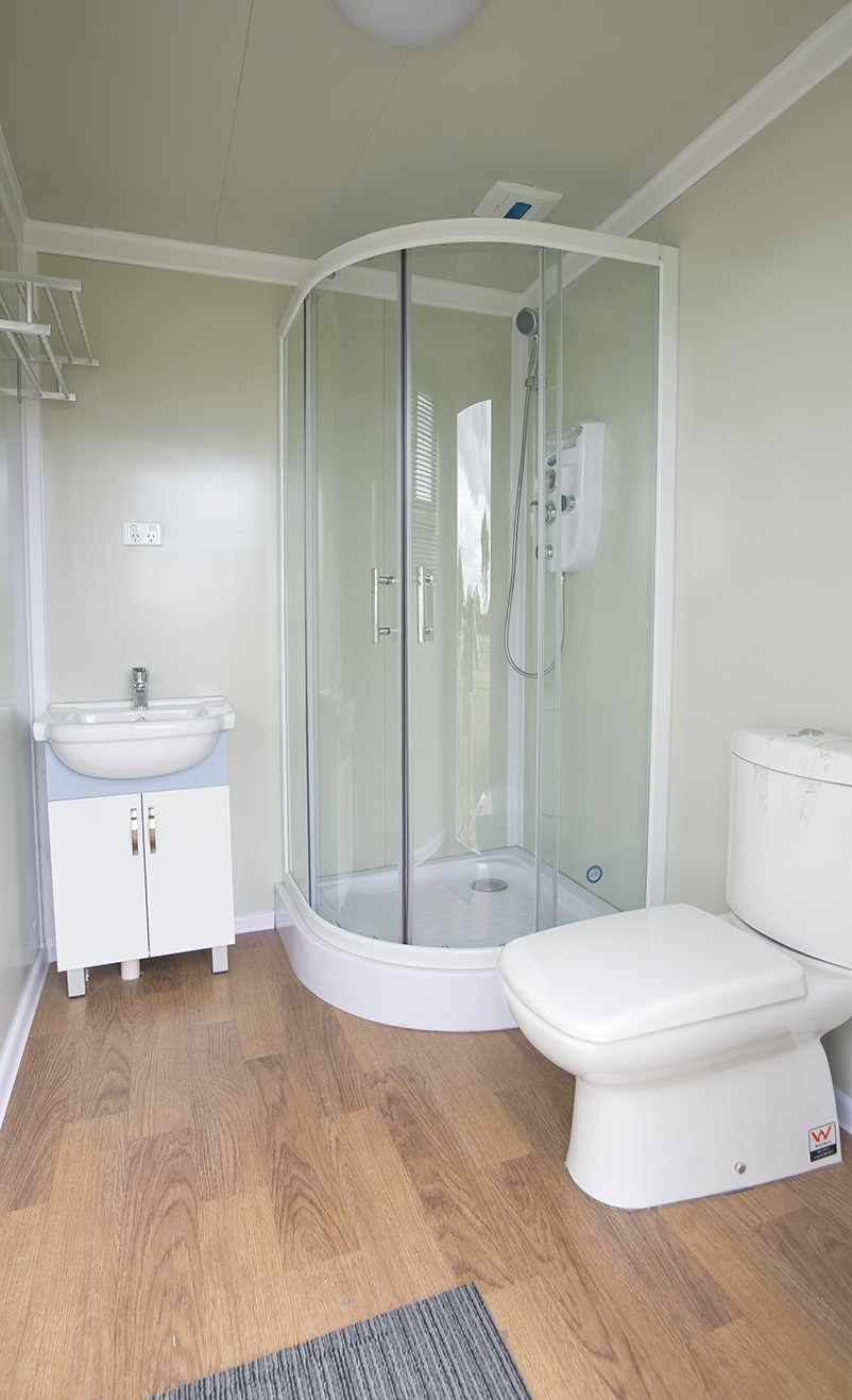 Large bathroom pod image 2 clevercabinscomau for Pod style bathroom